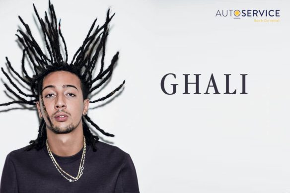 Ghali in concerto ad Acireale